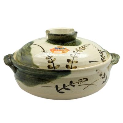 日本織布蘆薈砂鍋9號28cm(約 4~5 人份)