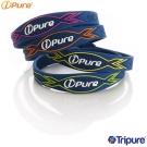 i-Pure 炫彩能量手環-墨藍系列-2入