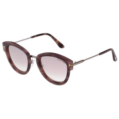 TOM FORD 水銀面 太陽眼鏡~粉色木紋~TOM574