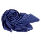 DIOR「SO DIOR」羊毛真絲披肩/圍巾  藍色(140X140)