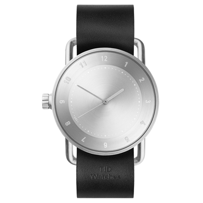 TID Watches No.2-經典黑x真皮錶帶/40mm