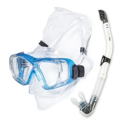 V.DIVE Combo 威帶夫潛水精品組-TC401D 碳纖天空藍