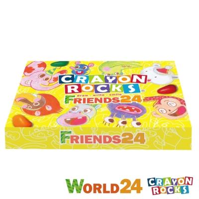 美國 Crayon Rocks 酷蠟石 - 彩繪世界 24色