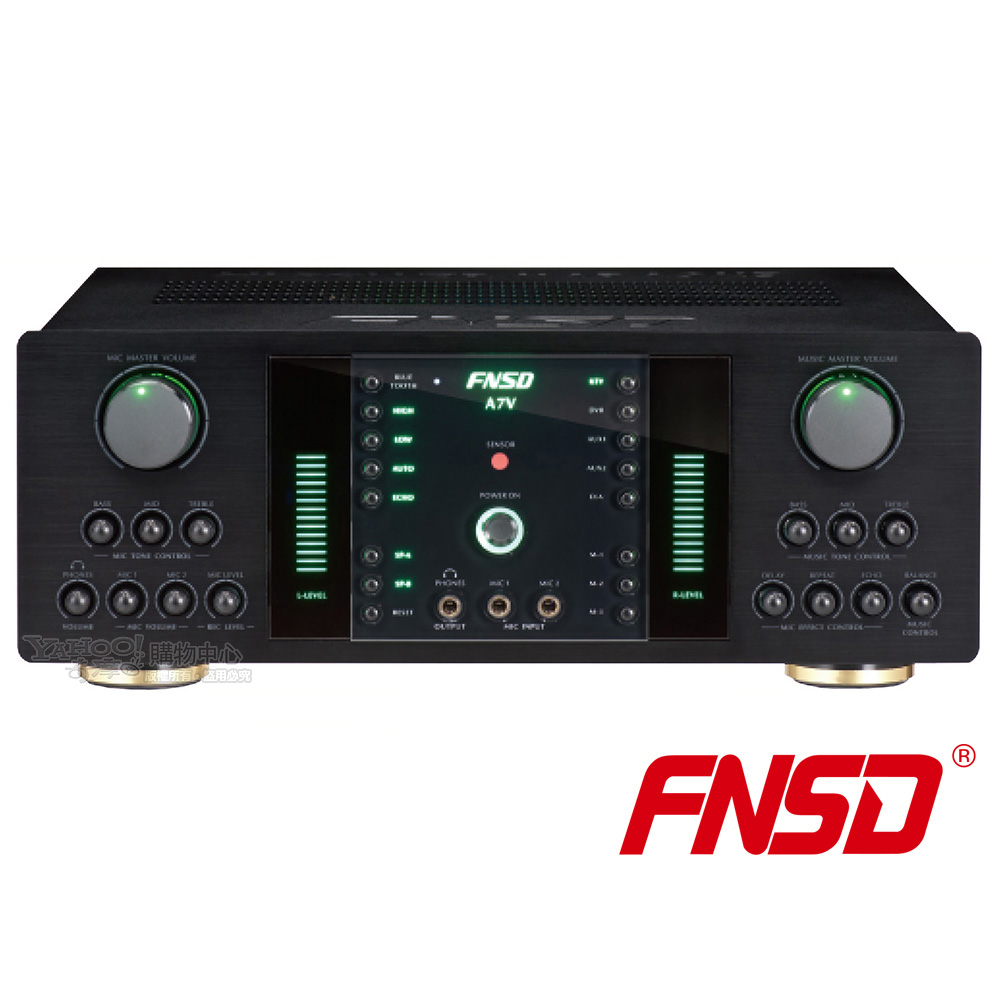 FNSD A7V數位迴音卡拉OK綜合擴大機
