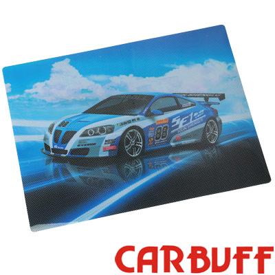 CARBUFF 車痴靜電貼/賽車47x35cm(4入裝)