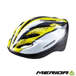 《MERIDA 》美利達亮眼安全帽明亮黃-MV15