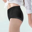 蕾黛絲- 壓腹平口褲內褲 M-EL(黑)