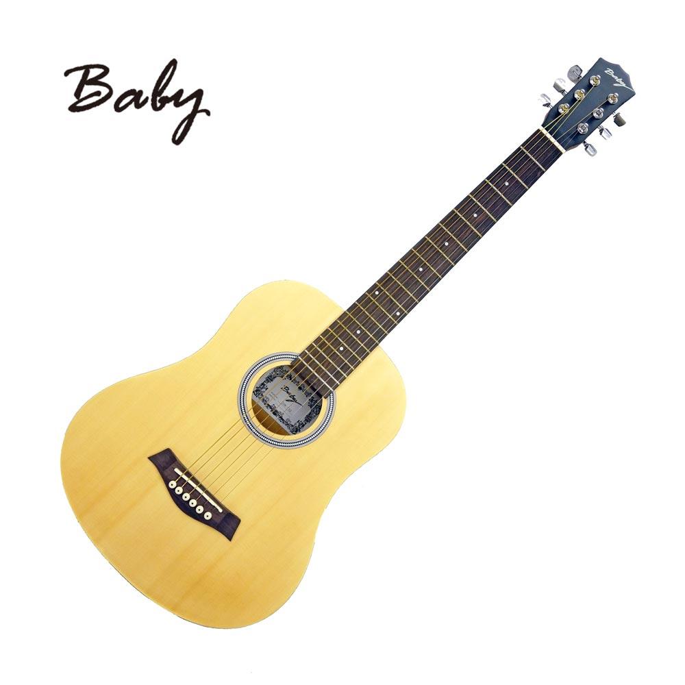 BABY GW132NS 旅行民謠小吉他 原木色