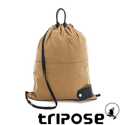 tripose 微旅超輕量可攜式折疊後背包 淺駝