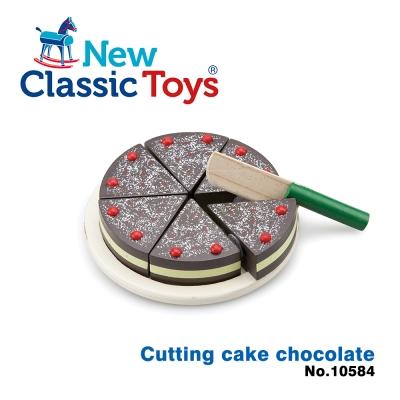荷蘭New Classic Toys巧克力蛋糕切切樂 - 10584