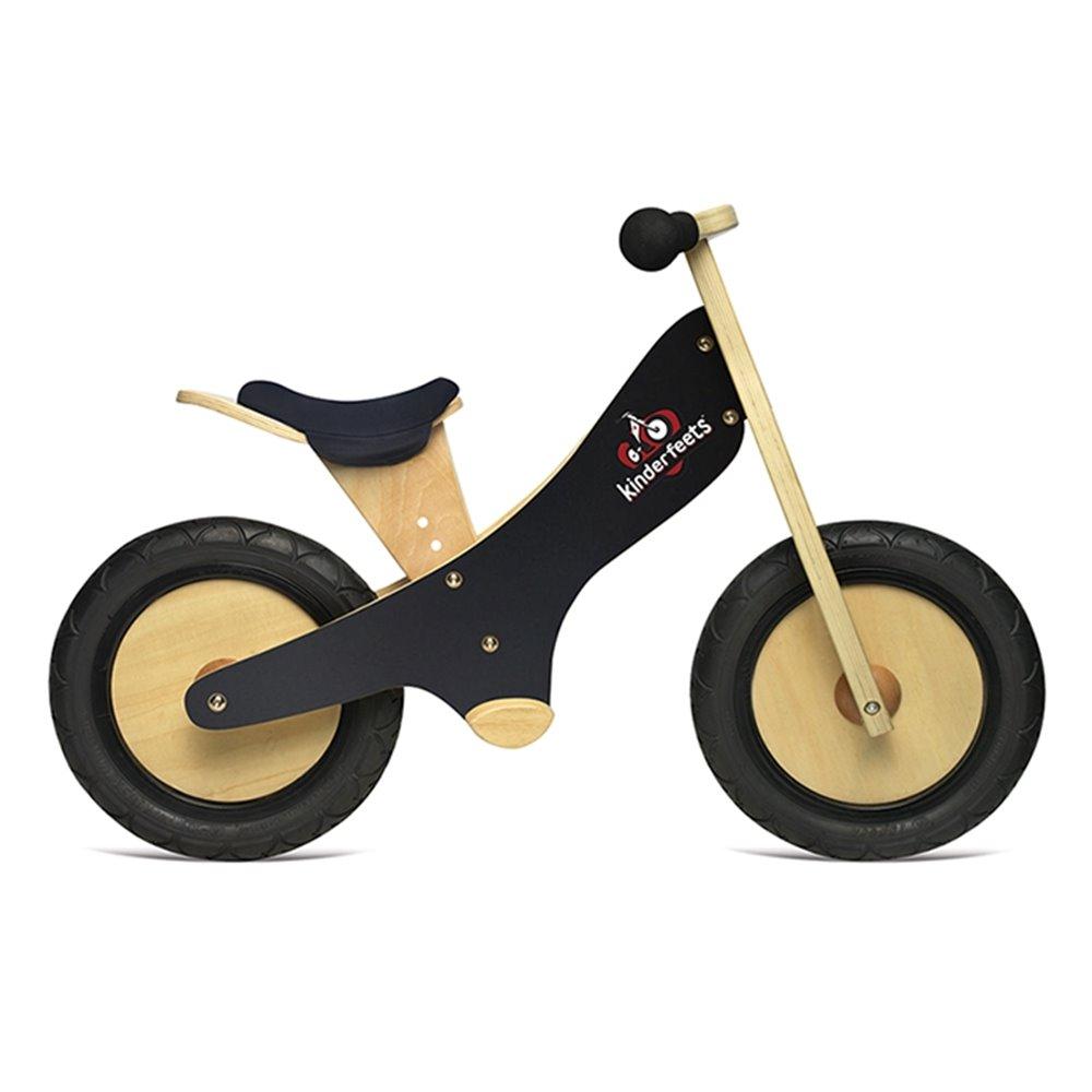 Kinderfeets 美國木製平衡滑步教具車(2Y )_繪旗艦 (銀河黑)