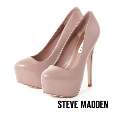 STEVE-MADDEN-派對厚底高跟鞋-好感裸膚