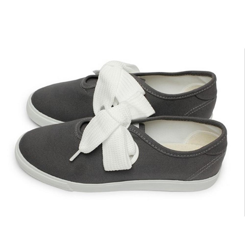 FUFA  MIT 粗條鞋帶休閒鞋 (T80)-灰色