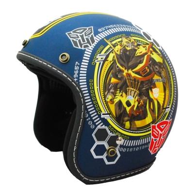 變形金剛安全帽 382D 大黃蜂彩繪系列(藍色)