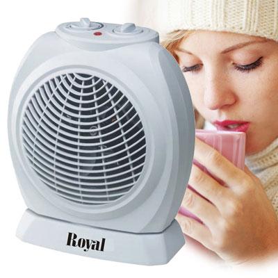 [下殺]Royal-自動擺頭冷/暖兩用電暖器RH-120