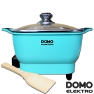 比利時DOMO-歐風2.2L多功能料理電火鍋(DM5002CT)