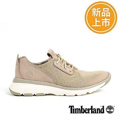 Timberland 女款淡灰褐色絨面皮革淺口鞋