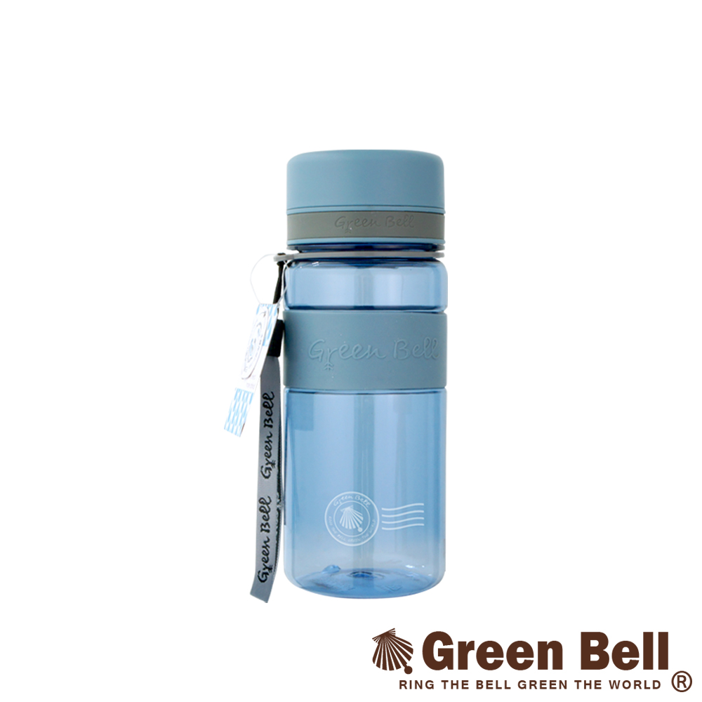 GREEN BELL綠貝直身防滑水壺600ml(藍色)