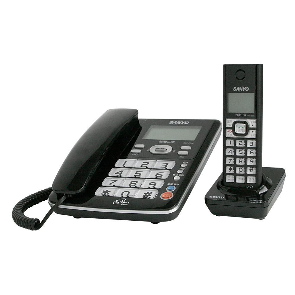 公司貨 三洋 SANYO DECT DCT-8906 2.4G 數位式子母機電話