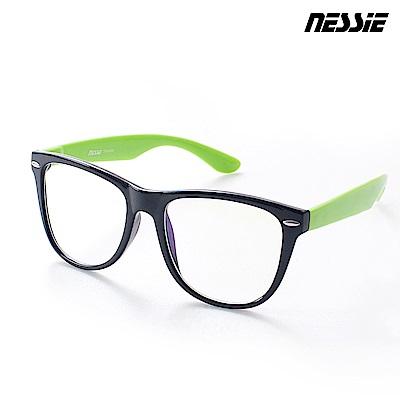 【Nessie尼斯眼鏡】抗藍光眼鏡-炫潮黑綠