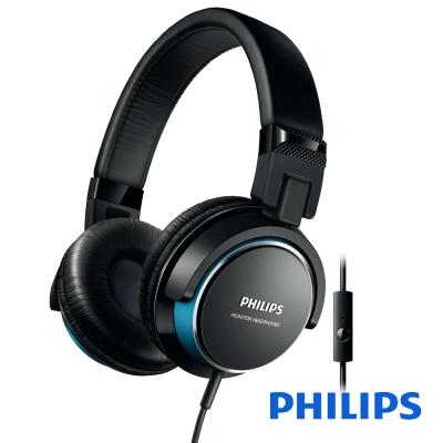 Philips 飛利浦 附麥克風耳罩式耳機 SHL3265