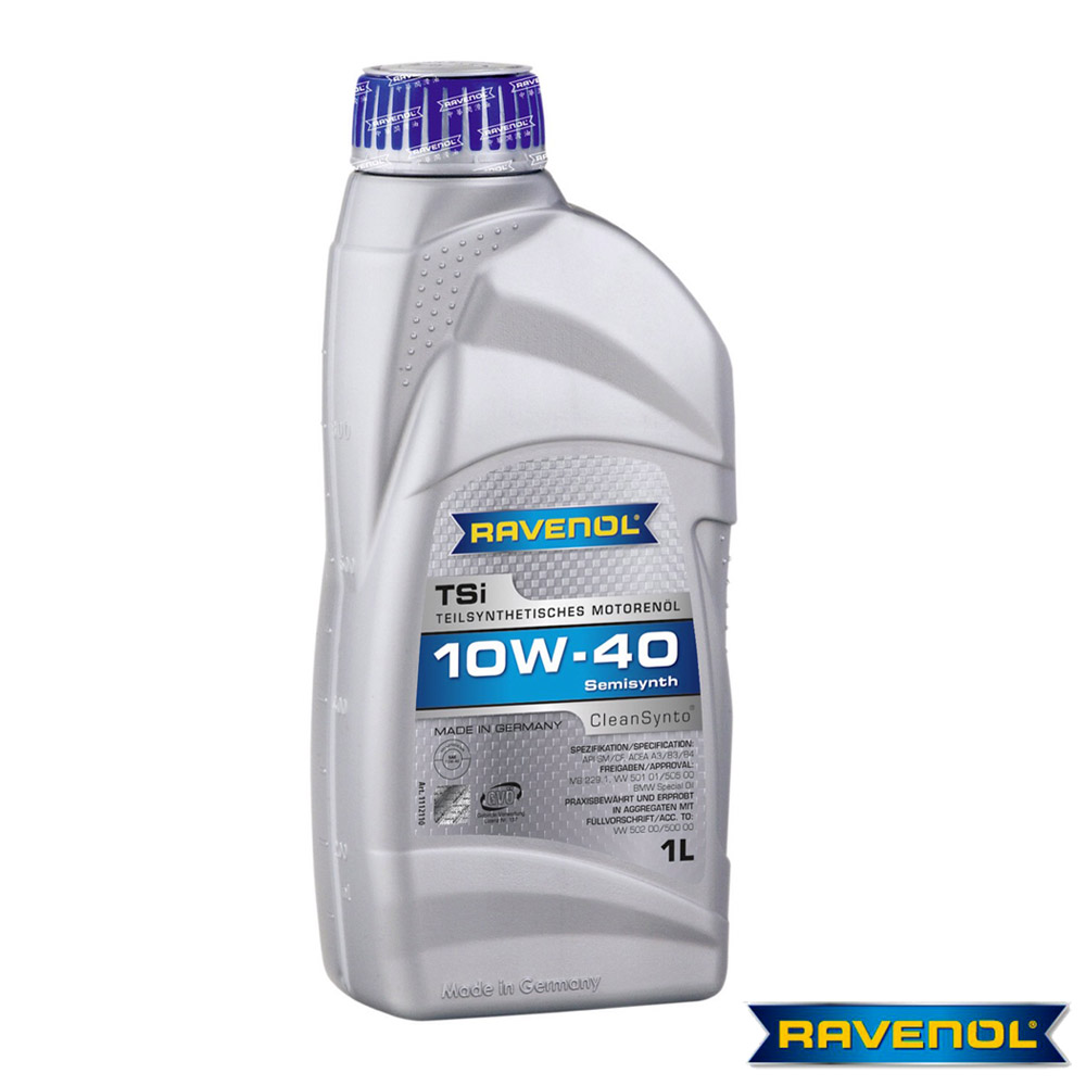 【德國進口RAVENOL】TSi 10W-40 合成機油六入
