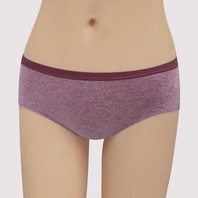 瑪登瑪朵 無鋼圈 低腰寬邊三角內褲(玫紫紅)