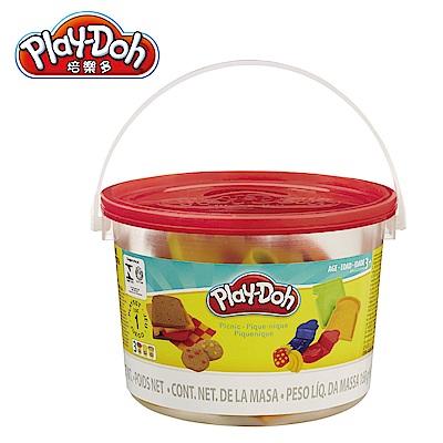 Play-Doh培樂多 工具迷你桶-紅色野餐