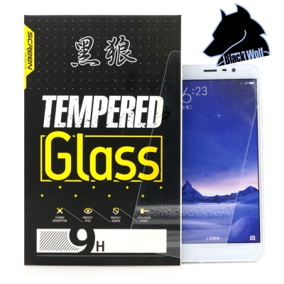 黑狼 OPPO A57 玻璃保護貼超值2入組