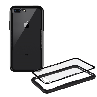 XM iPhone 8 Plus/7 Plus 5.5吋 晶瑩王者鋼化玻璃手機殼