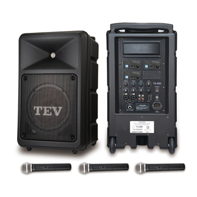 TEV 160W三頻無線擴音機 TA680iA-3