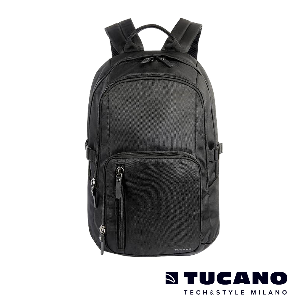 TUCANO Centro 15吋核心商務後背包- 黑