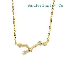 Wanderlust+Co 澳洲時尚品牌 水鑽十二星座系列 獅子座