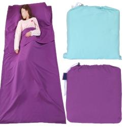 加大單人 輕薄保潔睡袋一個