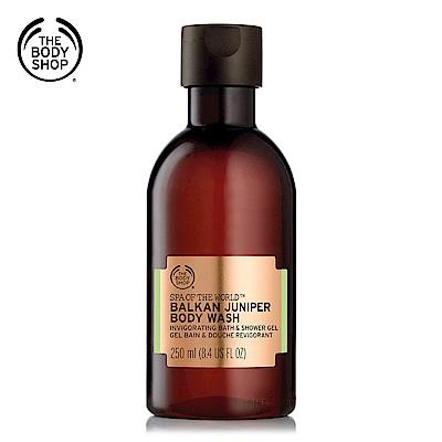 The Body Shop 巴爾幹SPA杜松果淨化沐浴膠250ML
