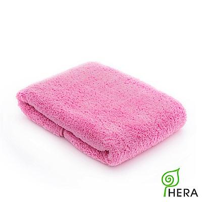 HERA  3M專利瞬吸快乾抗菌超柔纖-小方巾-蜜桃紅