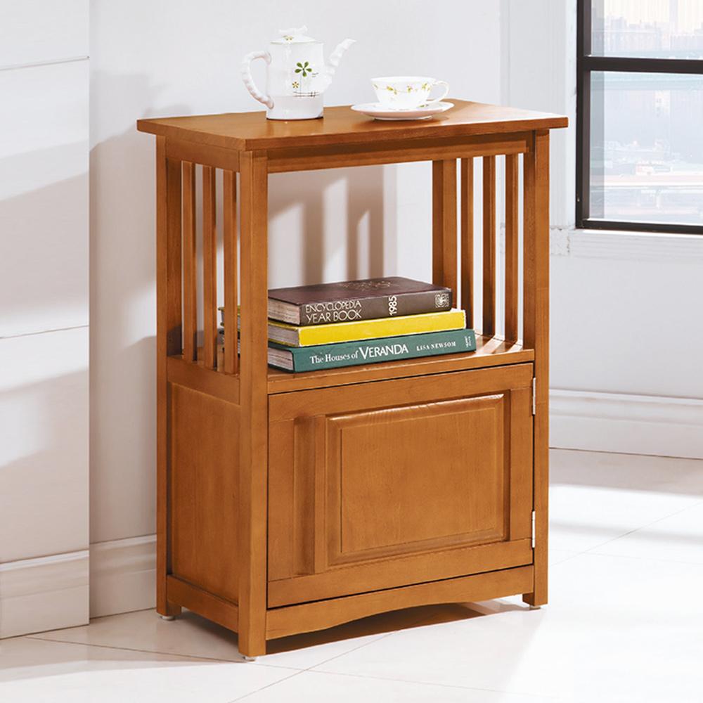 Bernice-羅特爾1.8尺全實木單門收納櫃/電話櫃-55x39x81cm