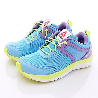 Reebok頂級童鞋-湛藍炫亮慢跑款-V70039藍(中小童段)T1