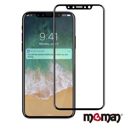 Mgman iPhoneX 0.3mm 滿版9H螢幕玻璃保護貼