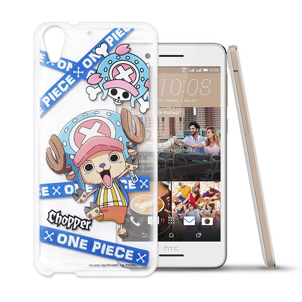 東映授權正版航海王 HTC Desire 728 透明軟式手機殼(封鎖喬巴)