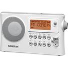 SANGEAN  PRD14USB  二波段 USB數位式時鐘收音機