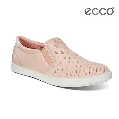 ECCO AIMEE 經典輕巧休閒鞋-粉