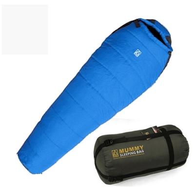 澳洲LONEPINE 可拼接防水極地保暖睡袋 藍色