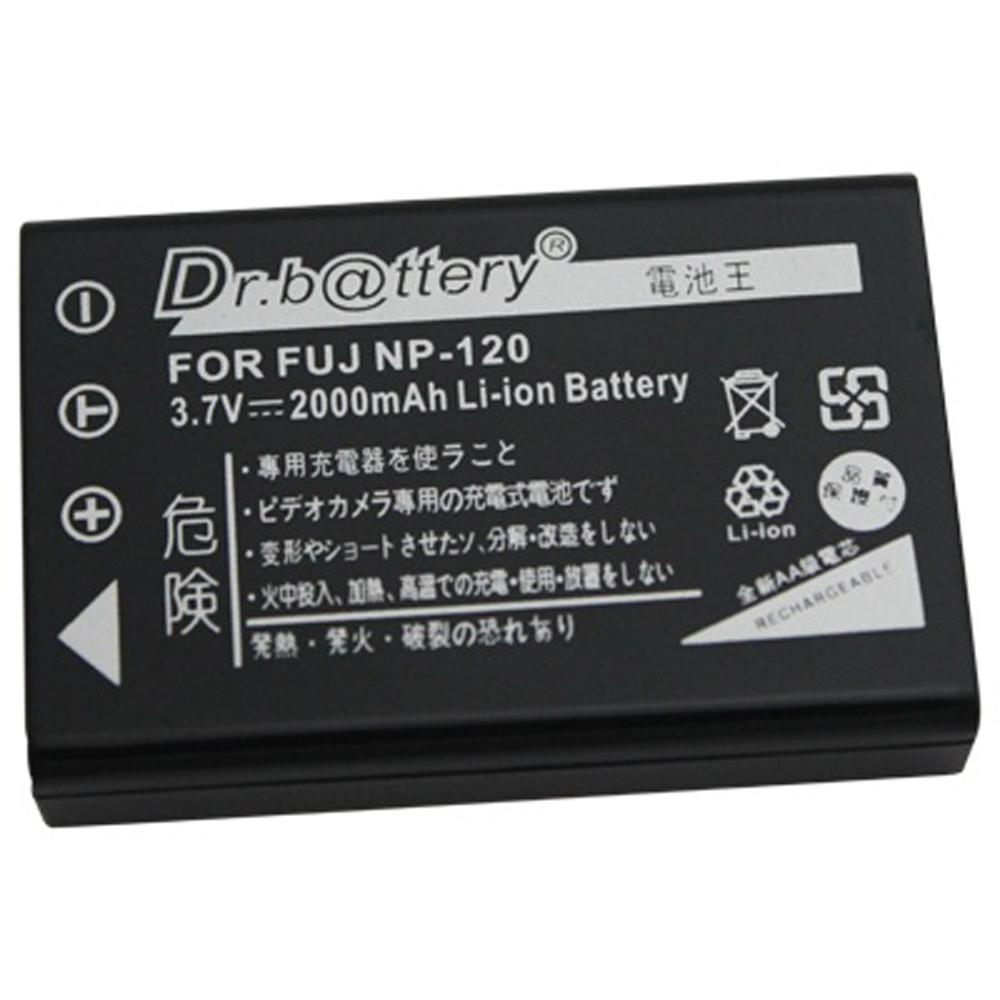 電池王 For Fujifilm NP-120 高容量鋰電池