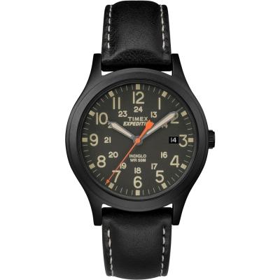 TIMEX 天美時 Expedition系列探險手錶-黑/36mm