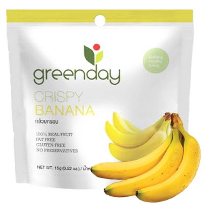 Greenday 香蕉凍乾(15g)