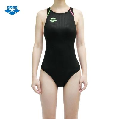 arena 女款連身競泳型泳衣FAR-2503WLC