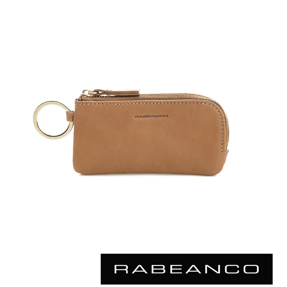 RABEANCO 迷時尚系列鑰匙零錢包 - 駝