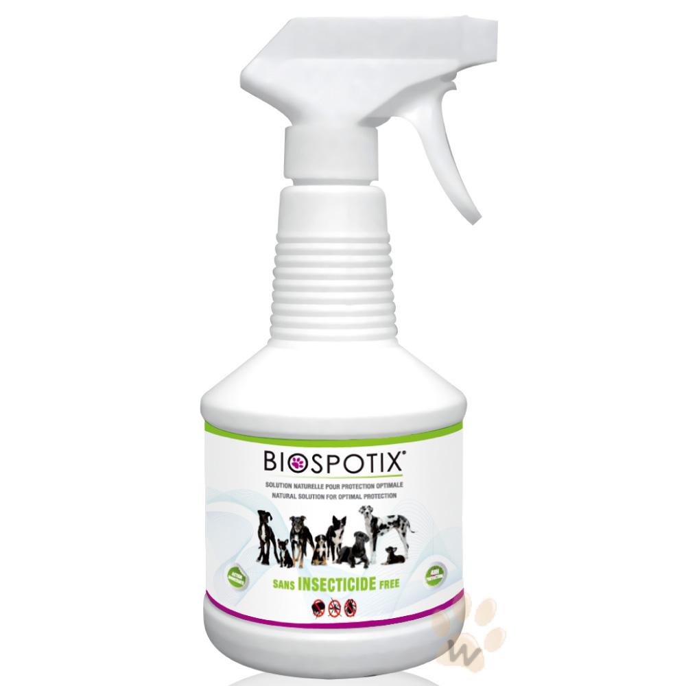 法國葛蘭絲Biospotix犬用驅蟲防蚤噴劑500ml 1入