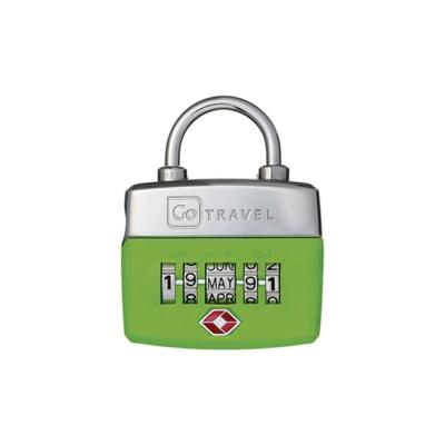 Go Travel  TSA 生日密碼鎖-綠色
